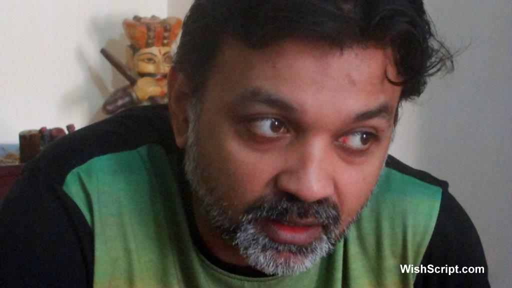 A chat session with Srijit Mukherjee