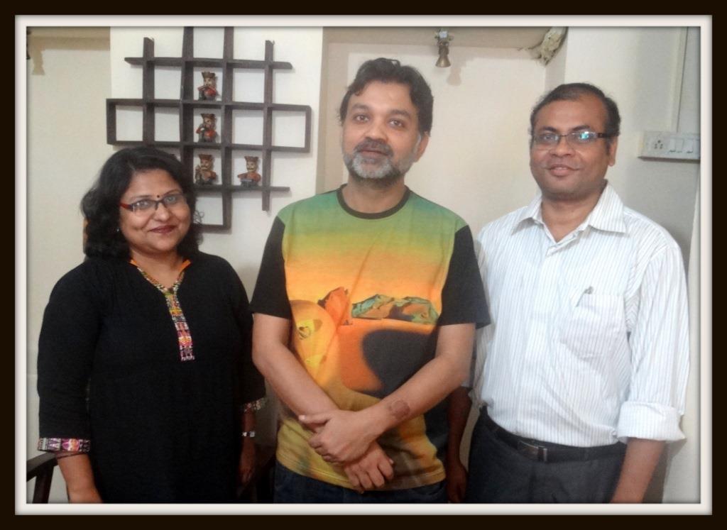 WishScript Team with Srijit Mukherjee