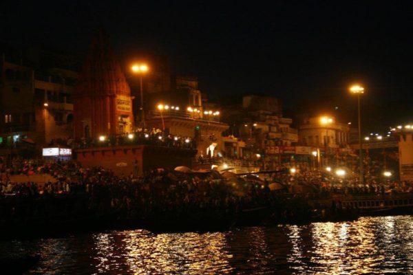 Beneras Ghat at Night